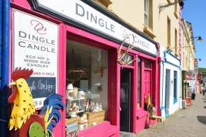 Candle shop, Dingle