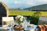 Views over Dingle Harbour from the secluded garden