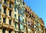 Belle epoque buildings in Nice